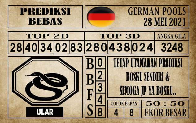 Prediksi Germany Hari Ini 28 Mei 2021
