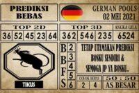 Prediksi Germany Hari Ini 02 Mei 2021