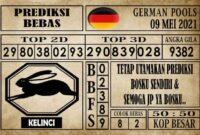 Prediksi Germany Hari Ini 09 Mei 2021
