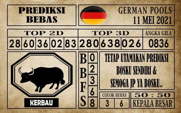 Prediksi Germany Hari Ini 11 Mei 2021