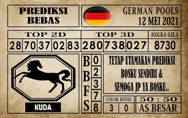 Prediksi Germany Hari Ini 12 Mei 2021