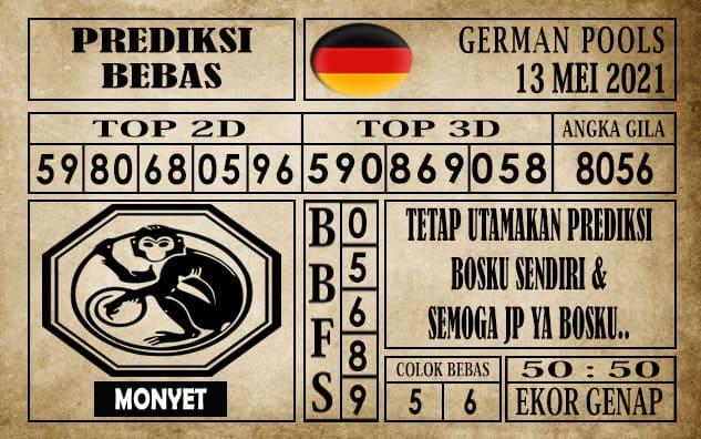 Prediksi Germany Hari Ini 13 Mei 2021