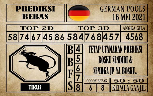 Prediksi Germany Hari Ini 16 Mei 2021