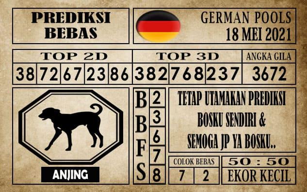 Prediksi Germany Hari Ini 18 Mei 2021