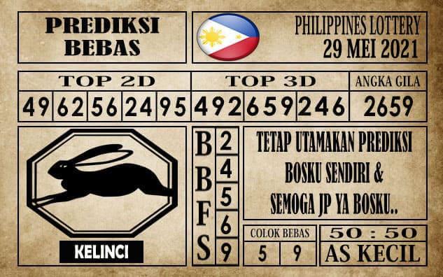 Prediksi Filipina PCSO Hari Ini 29 Mei 2021