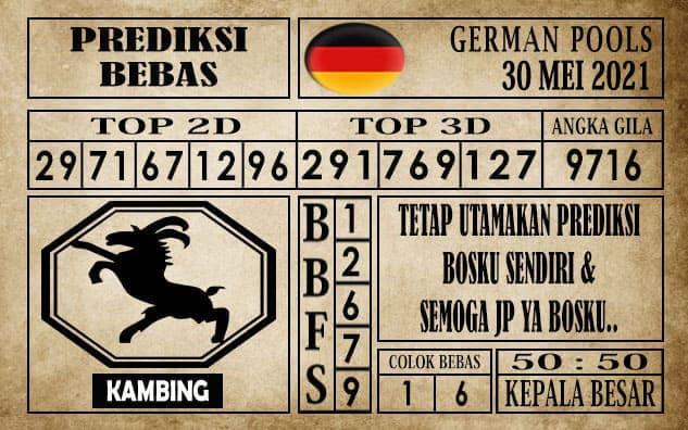 Prediksi Germany Hari Ini 30 Mei 2021