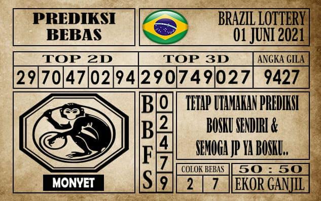 Prediksi Brazil Lottery Hari Ini 01 Juni 2021