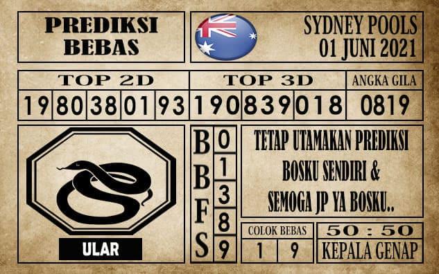 Prediksi Sydney Pools Hari ini 01 Juni 2021
