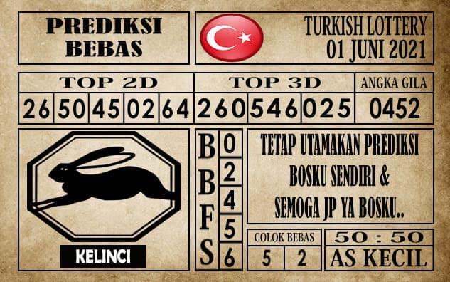 Prediksi Turkish Lottery Hari ini 01 Juni 2021