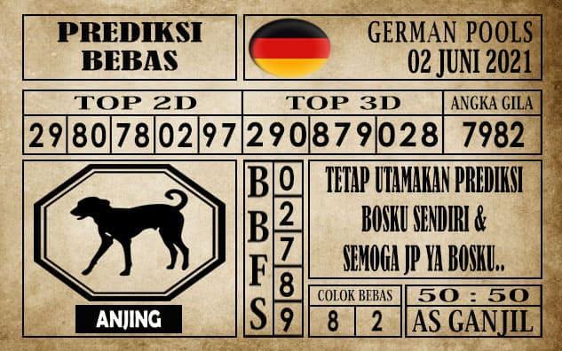 Prediksi Germany Hari Ini 02 Juni 2021