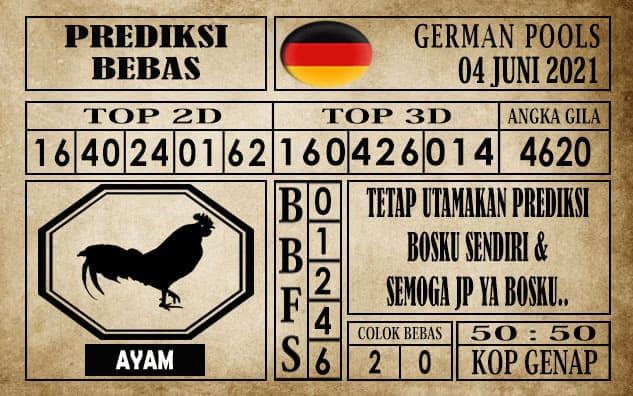 Prediksi Germany Hari Ini 04 Juni 2021
