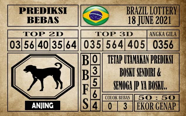 Prediksi Brazil Lottery Hari Ini 18 Juni 2021