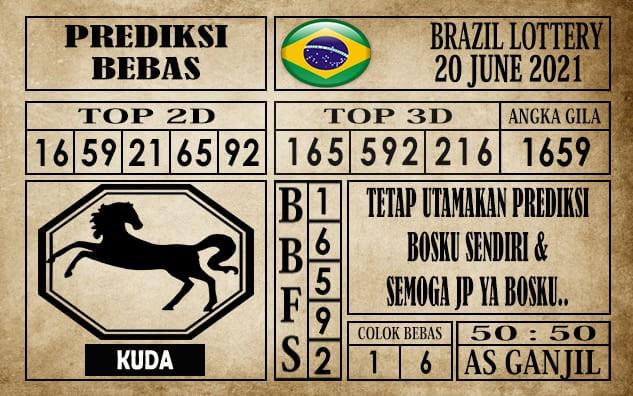 Prediksi Brazil Lottery Hari Ini 20 Juni 2021