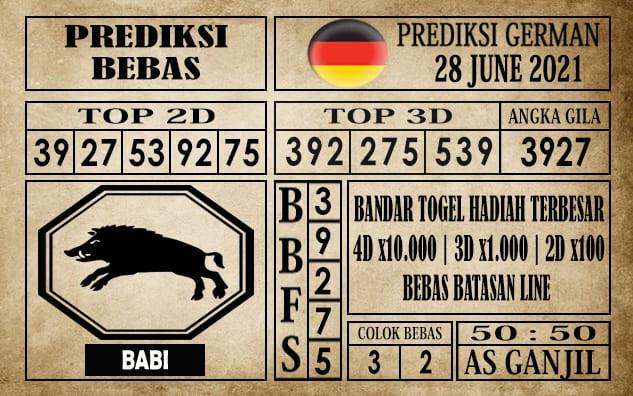 Prediksi Germany Hari Ini 28 Juni 2021