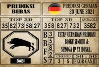 Prediksi Germany Hari Ini 20 Juni 2021