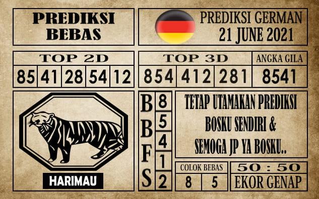 Prediksi Germany Hari Ini 21 Juni 2021