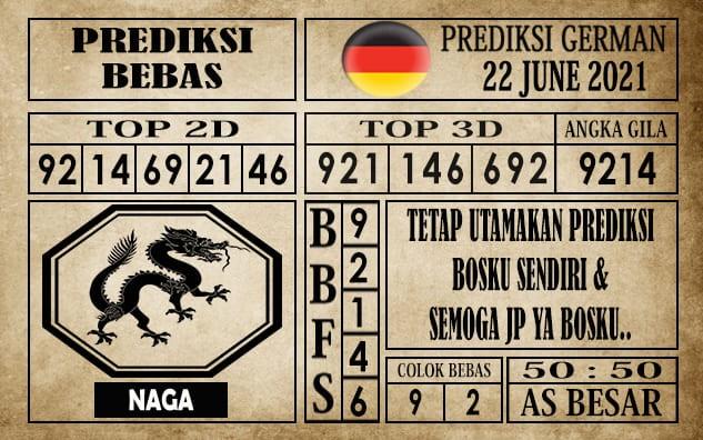 Prediksi Germany Hari Ini 22 Juni 2021