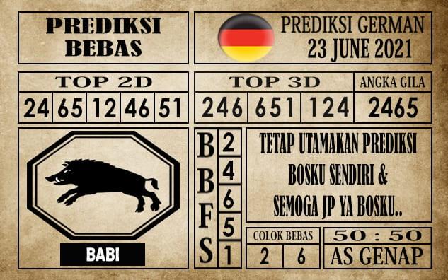 Prediksi Germany Hari Ini 23 Juni 2021