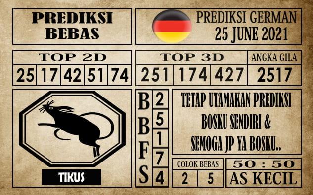Prediksi Germany Hari Ini 25 Juni 2021