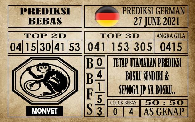 Prediksi Germany Hari Ini 27 Juni 2021