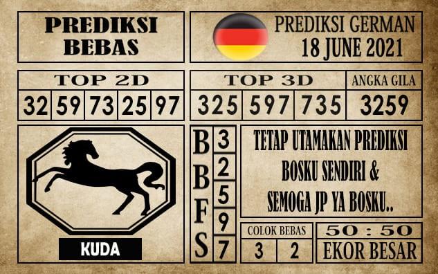 Prediksi Germany Hari Ini 18 Juni 2021