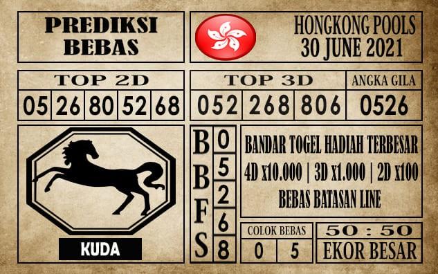 Prediksi Hongkong Pools Hari Ini 30 Juni 2021