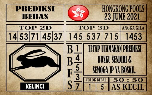 Prediksi Hongkong Pools Hari Ini 23 Juni 2021