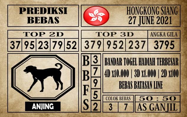Prediksi Hongkong Siang Hari Ini 27 Juni 2021