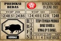 Prediksi Hongkong Siang Hari Ini 19 Juni 2021