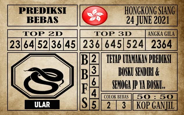 Prediksi Hongkong Siang Hari Ini 24 Juni 2021