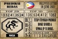 Prediksi Filipina PCSO Hari Ini 18 Juni 2021