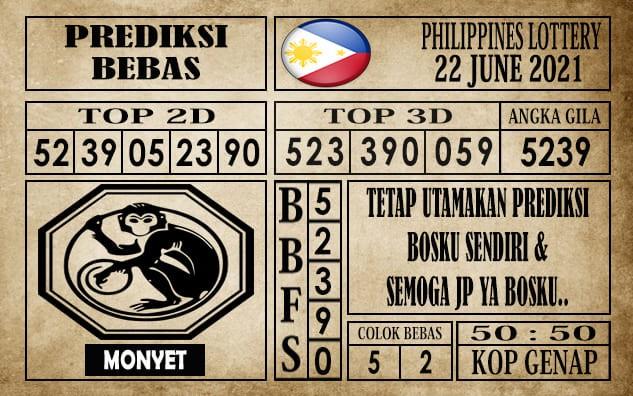 Prediksi Filipina PCSO Hari Ini 22 Juni 2021
