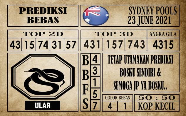 Prediksi Sydney Pools Hari Ini 23 Juni 2021