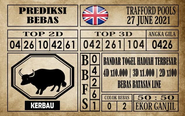 Prediksi Trafford Pools Hari Ini 27 Juni 2021
