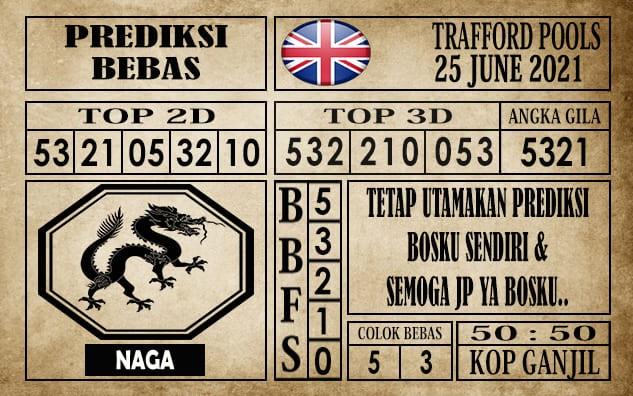 Prediksi Trafford Pools Hari Ini 25 Juni 2021