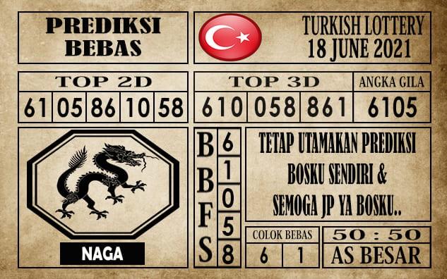 Prediksi Turkish Lottery Hari Ini 18 Juni 2021