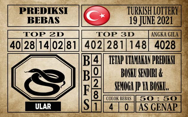 Prediksi Turkish Lottery Hari Ini 19 Juni 2021