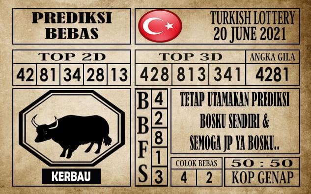 Prediksi Turkish Lottery Hari Ini 20 Juni 2021