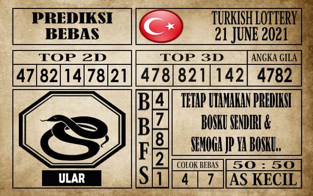Prediksi Turkish Lottery Hari Ini 21 Juni 2021