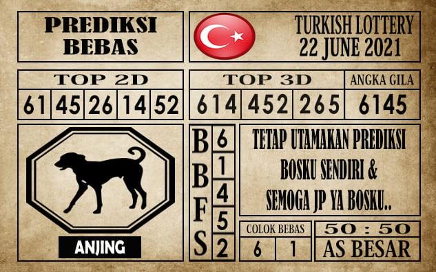 Prediksi Turkish Lottery Hari Ini 22 Juni 2021