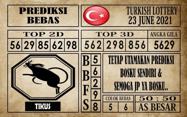 Prediksi Turkish Lottery Hari Ini 23 Juni 2021