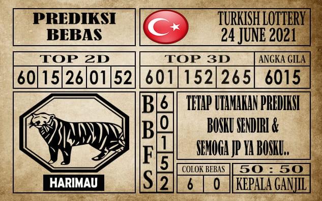 Prediksi Turkish Lottery Hari Ini 24 Juni 2021