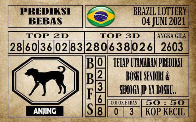 Prediksi Brazil Lottery Hari Ini 04 Juni 2021