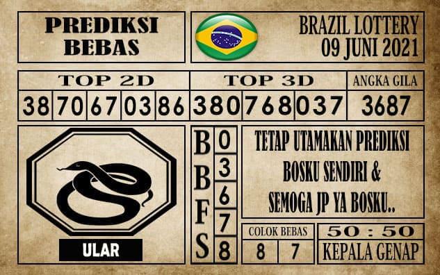 Prediksi Brazil Lottery Hari Ini 09 Juni 2021