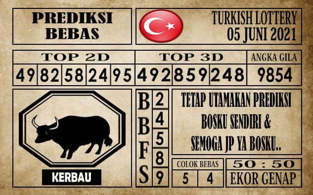 Prediksi Turkish Lottery Hari ini 05 Juni 2021