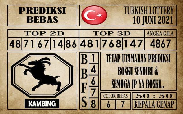 Prediksi Turkish Lottery Hari ini 10 Juni 2021