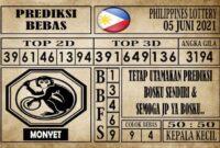 Prediksi Filipina PCSO Hari Ini 05 Juni 2021