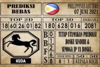 Prediksi Filipina PCSO Hari Ini 07 Juni 2021