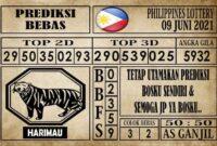 Prediksi Filipina PCSO Hari Ini 09 Juni 2021