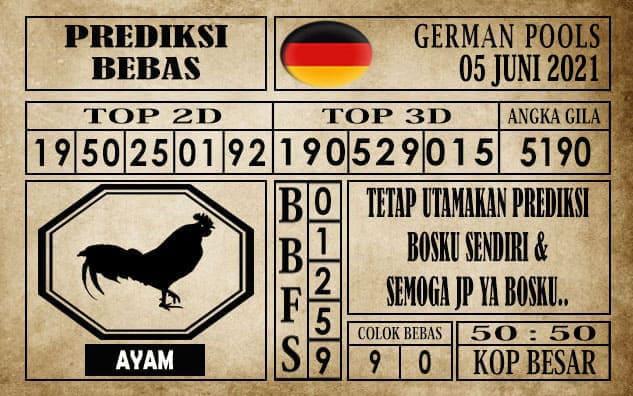 Prediksi Germany Hari Ini 05 Juni 2021